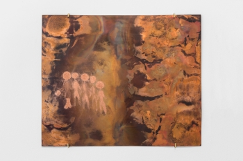 The Peoples of Ennedi Plateau #4, 2016, copper