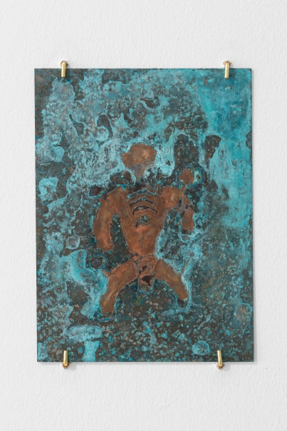 The Shaman of Tassili n'Ajjer #2, 2016, copper